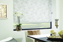 Roller Blinds by Louvolite 2017/2018 collection / Beautiful roller blinds, plains, patterns, prints, textures, motorised and manual.