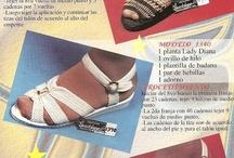 örgü papuç sandalet