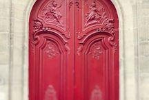 rooi deur