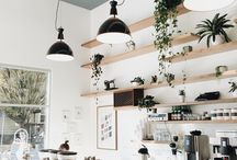 Cafe wall unit