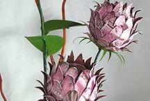 Papier kwiaty
