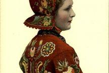 Embroidery - wool / Yllebroderi#Skånskt yllebroderi#
