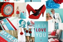 Red, White and Teal Wedding / by Wiregrass Weddings