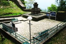 "The Ancient Capital Of Sikkim-Rabdantse Ruins, Pelling, Sikkim / Few kilometers away from the Pemyangste Monastery, Pelling, you will be greeted by a simple yet interesting signboard, saying  ""Follow the Path and You will reach the Palace"". to know https://goo.gl/cDUW8Q"