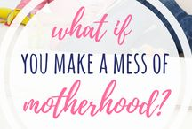 Encouragement for Moms Like Me / Christian Encouragment for Moms