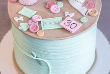 Cake ideas for a needlecrafter