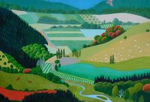 New Zealand Landscape paintings