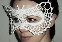 masks of columbin / masks of columbin
