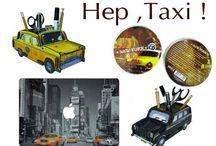 Objets déco sur le thème Taxi
