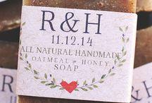 Wedding soap favours