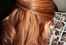 Wedding hairstyles and colours