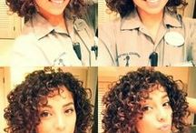 Curly // Short