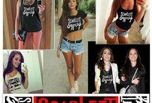 Band Merchandise / Tee's Tshirts / by Scarlett Gypsy Band
