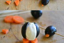 Gemüseschnitzereien