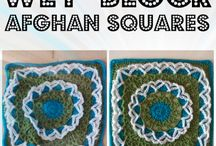 Crochet Grannys, Blocks, and Squares / Any kind of crochet square that can be put into a blanket or other project. Can be anything from big to little.