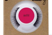 Bullseye Lashes / We are purveyors of false eyelashes. We are lashaholics on-the-go. We are lash wearers with a jet-set life. We are obsessed with all things Mod. We are the creators of the first-ever refillable false eyelash compact!  www.bullseyelashes.com