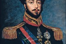 """Almanach de Saxe Gotha - Emperor Pedro I of Brazil - King Pedro IV of Portugal / Dom Pedro I ; 12 October 1798 – 24 September 1834), nicknamed """"the Liberator"""", was the founder and first ruler of the Empire of Brazil. As King Dom Pedro IV, he reigned briefly over Portugal, where he also became known as """"the Liberator"""" as well as """"the Soldier King"""". Born in Lisbon, Pedro I was the fourth child of King Dom João VI of Portugal and Queen Carlota Joaquina, and thus a member of the House of Braganza."""