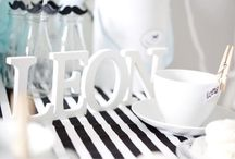 Little Man Party - Decorations Idea for Baby Shower