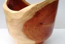 Hand turned Yew Bowl - By Stephen Hughes @ Hunt and Gather