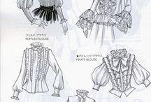 Технический рисунок одежды