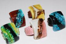 glas smykker