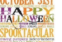 Halloween / by Krista Day Allphin