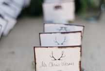 invites and placecards