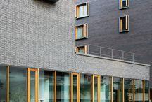 bricks facade
