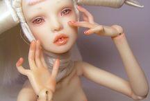 Creatures & Dolls (Mixed Media)
