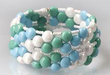 Candy dvoudírkové korálky - Candy 2-hole beads