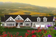 house exterior/garage position