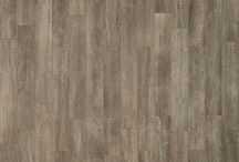 """Cabane / The Cabane series by Unicom Starker features 8""""x48"""" rectified porcelain tiles with a rustic, wood-look. Also available are matching 2"""" x 2"""" mosaics."""