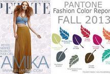 Fashion colors / Current colors for fashion, art, decor.
