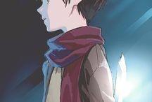"""Eren Jäger / """"Je jure d'exterminer tout les titans, tous jusqu'au dernier!"""".Eren pour moi c'est ma vie mon coeur ce manga est plus passionnant plus génial que tout les autres.Surtout jadort sa détermination à combattre et sa haine contre les titan (Jai adoré sa tête quand il était dans un cachot et quil a dit à Erwin et Levi qu'il voulait rejoindre le bataillon d'exploration et massacré du titan)Eren est mon personnage préféré (avec Levi) ce manga est le meilleur Saison 2, me voilà!!JÄGEEEEEEEEEER!!!!!!!!!!"""
