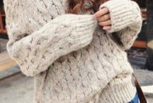sweaters, hoodies etc :p