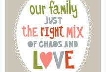 live, laugh, love, family / for my family who I LOVE so much