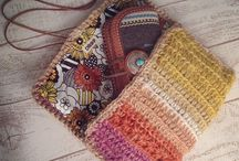 crochet clutch bag