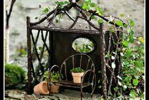 Mailea's fairy garden