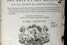Encyclopédie ou Dictionnaire raisonné des sciences, des arts et des métiers par une ... / L'Encyclopédie va ser una gran obra col·lectiva. Aquest compendi del coneixement i els seus mètodes va voler abraçar totes les ciències i les arts. Aquesta 1a edició inclou més de 70.000 entrades distribuïdes en 17 volums i unes 2.500 làmines. Entre 1777 i 1780 s'hi va agregar un suplement de 5 volums, completat el 1780 amb dos volums més d'índexs. El CRAI Biblioteca de Reserva és un dels tres centres a Catalunya que tenen aquesta edició.