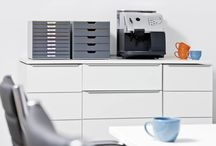 Award-winning Desktop Storage / Bring some colour to your desk with the latest generation in drawer boxes. These high quality storage systems are available in 5, 7 or 10 drawer options and a 5 Part Letter Tray that hold A4, C4 and letter size sheets. VARICOLOR® fits perfectly onto standard size desks, cabinets and sideboards. Projects can be easily found thanks to the colourful drawer compartments which can be labelled using printed inserts.