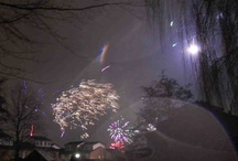 Fireworks / The end of a year makes people enthusiast to fire fireworks. Interesting images to take