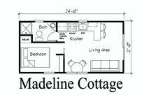 small house with mezzanine