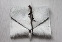 clutches / handmade leather clutches