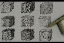 Ink drawing tutorials