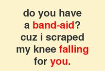 Lame pick up lines