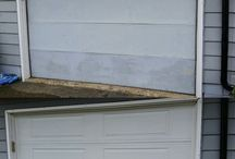 Before and After Garage Doors / See the difference.