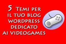Template per blog di VideoGames / 5 template wordpress per il tuo blog dedicato ai giochi