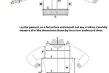 Learn how to measure yourself for knits