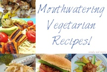 """""""Heathy"""" eating...some vegetarian...some not... / healthier alternatives to some of our foods...some vegetarian, some low fat, """"skinny"""" recipes..."""