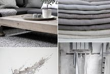 Mood board - Greys